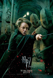 Harry Potter and the Deathly Hallows: Part 2 Character Movie Poster Set - Maggie Smith as Professor Minerva McGonagall