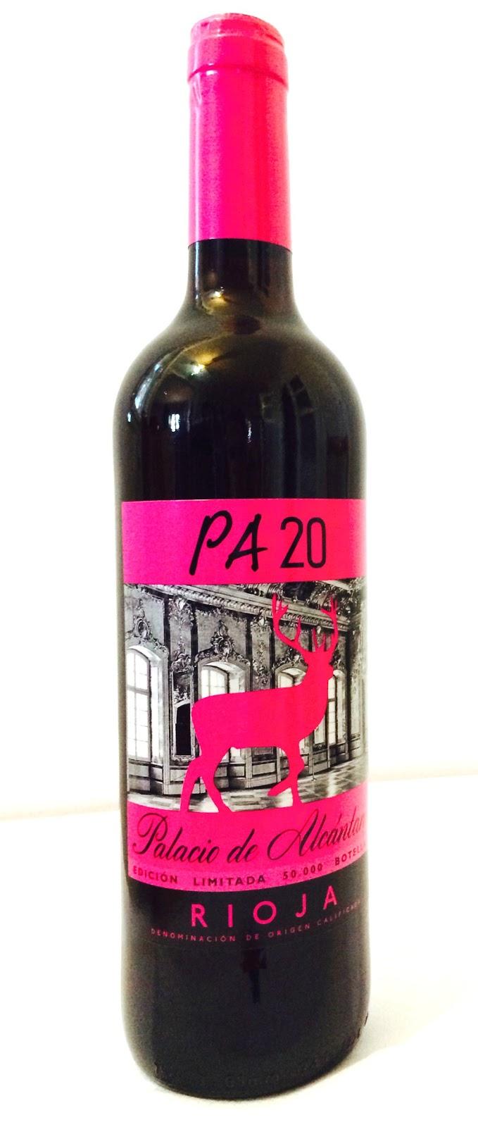 vino tinto Rioja Palacio de Alcantara PA20