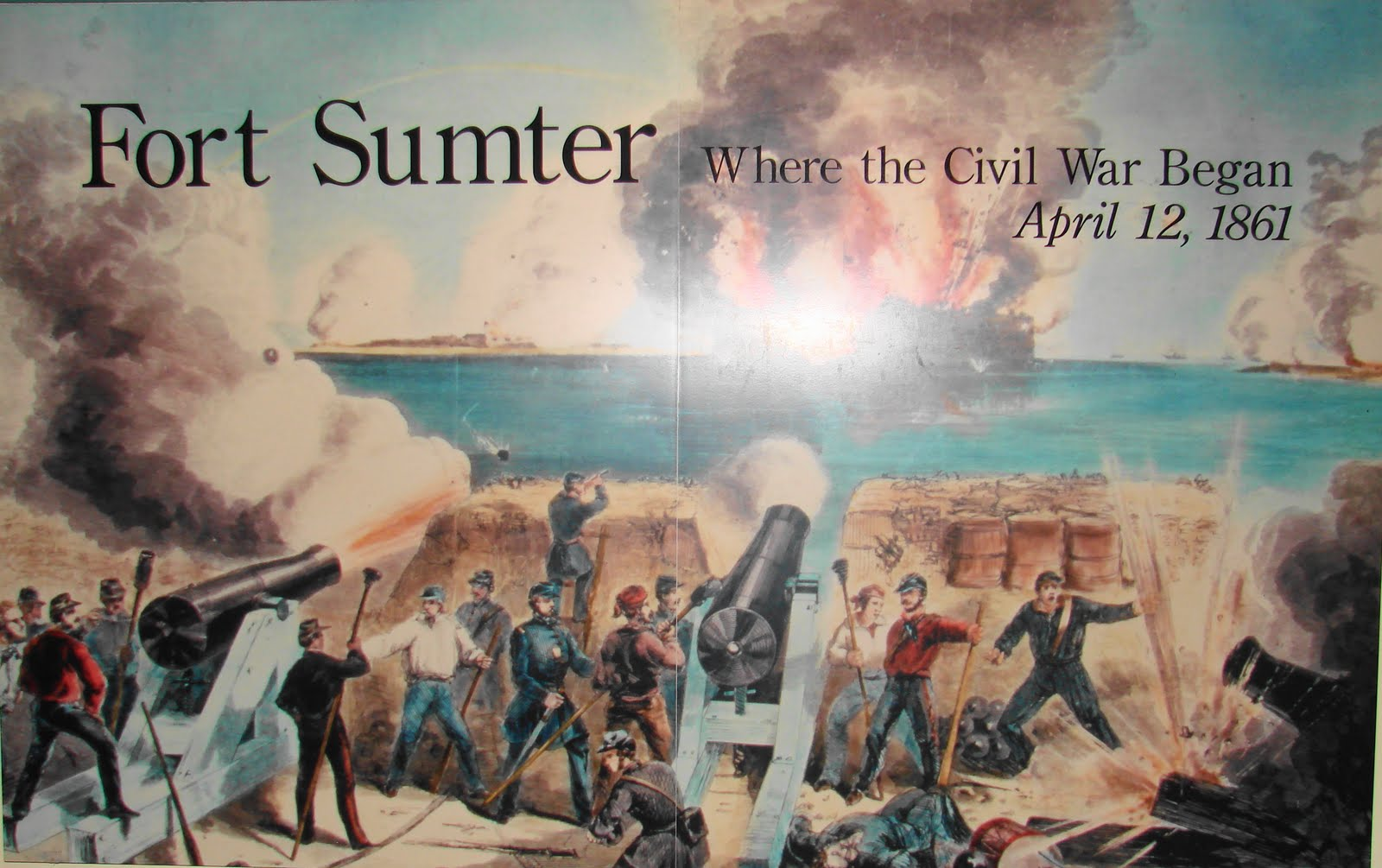 File:South Carolina, Fort Sumter, Exterior view of, - NARA - 533431 ...