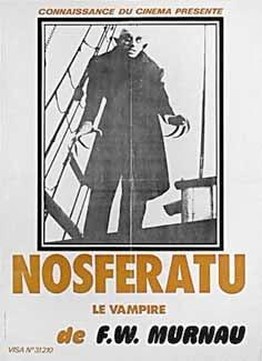 Cartel de la película : Nosferatu, 1922, F.W. Murnau