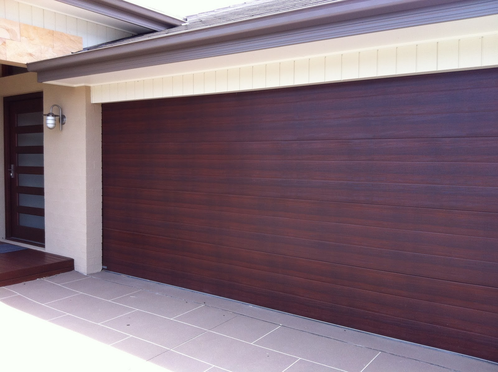 Caoba Dawn Colour Garage Door Millennium Garage Doors