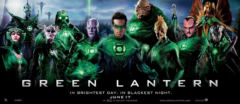 Green Lantern Corps film poster