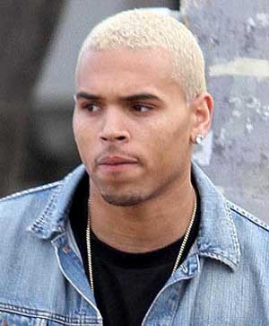 Chris Brown  Blonde Hair on Chris Brown Blonde Hair Jpg