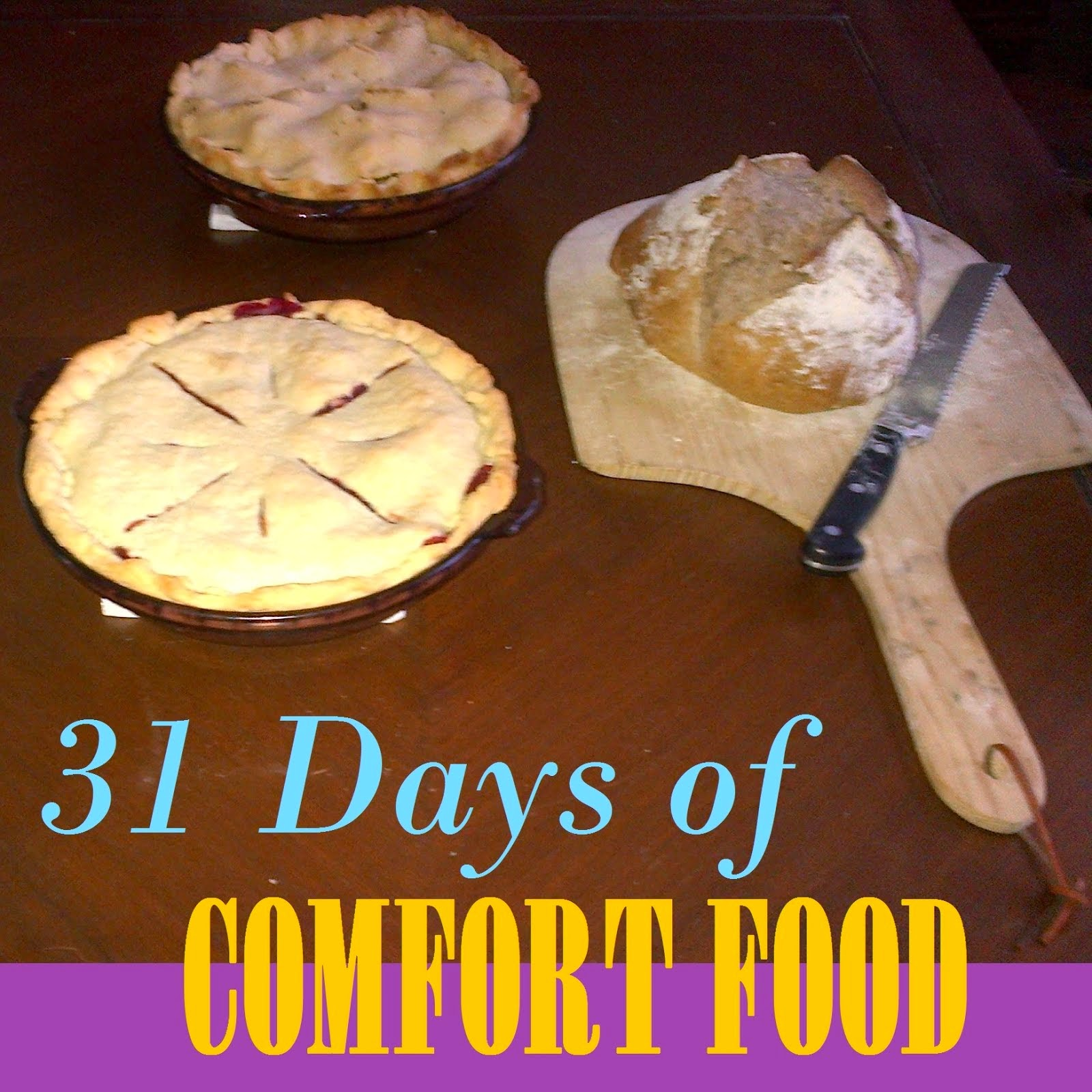 Read all 31 days of comfort food here!