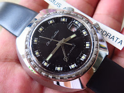CITIZEN ALARM DATE BLACK DIAL - MANUAL WINDING - RARE