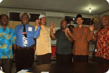 Forum Komunikasi Umat Beragama (FKUB) Papua Fasilitasi Perdamaian Kristen dan Muslim di Tolikara