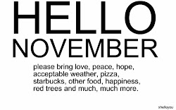 sweet november is here !!!