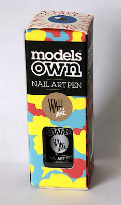 Models Own Nail Art Pen in Black