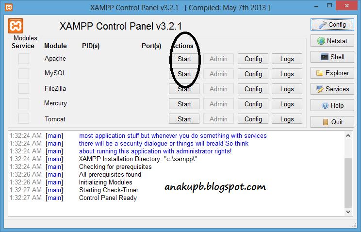 Cara Menjalankan Aplikasi Xampp - Qodia