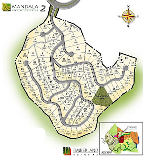 Mandala at Timberland Heights Quezon City Environs Site Development Map