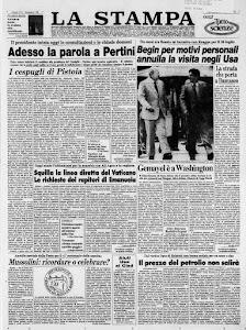 LA STAMPA 19 LUGLIO 1983
