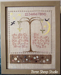 Counted Cross Stitch Sampler...