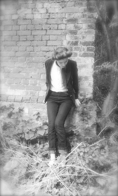 teddy girl via lovebirds vintage