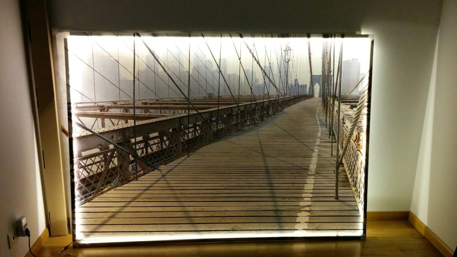 Cosas de cosas: Retroilumina tu cuadro de Ikea con luces led