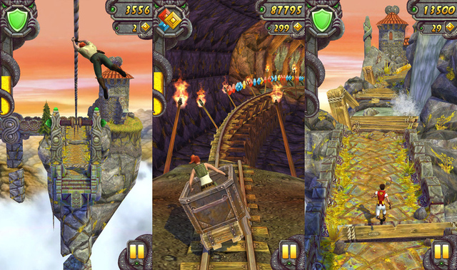 Temple Run 2 Dengan Unlimited Gold