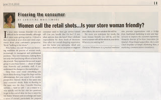 Women Call Retail Shots; Is Your Store Woman Friendly? by Christine B. Whittemore