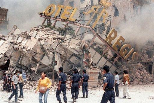 Mexico City earthquake - 1985 | Nonstop 80s