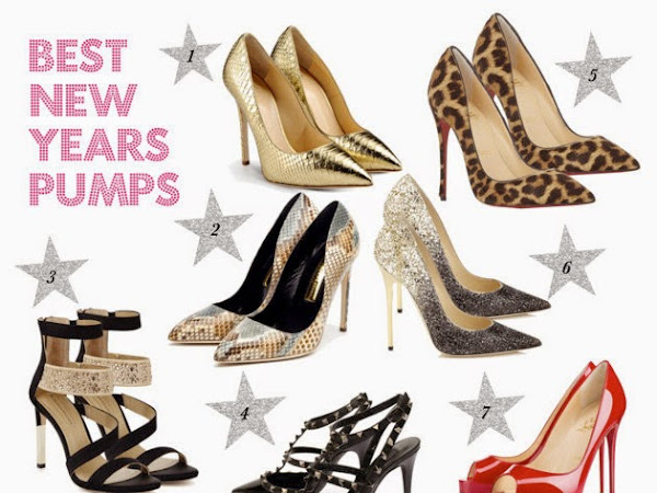 Monday Style Guide: Best New Years Pumps