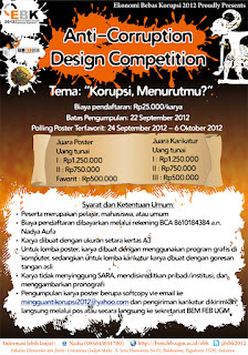 anti coruption desain competition
