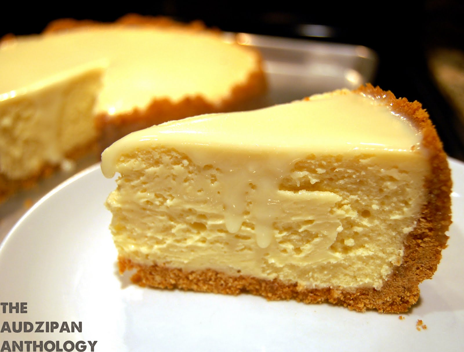 the audzipan anthology: White Chocolate Cheesecake