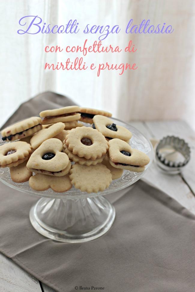 biscotti senza lattosio farciti di confetture