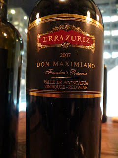 Wine Review of 2008 Errázuriz Don Maximiano Founder's Reserve