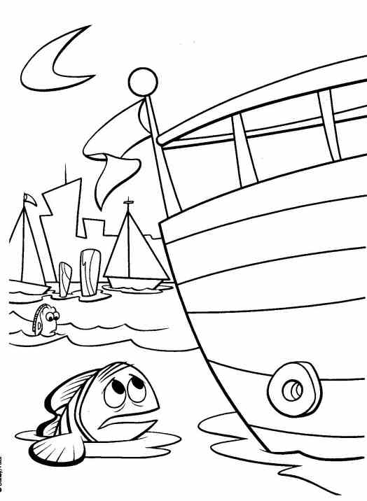 Finding nemo coloing pages free coloring pages for Nemo coloring pages to print