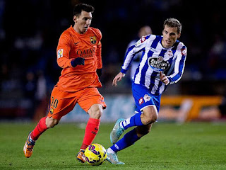 Barcelona vs Deportivo La Coruña