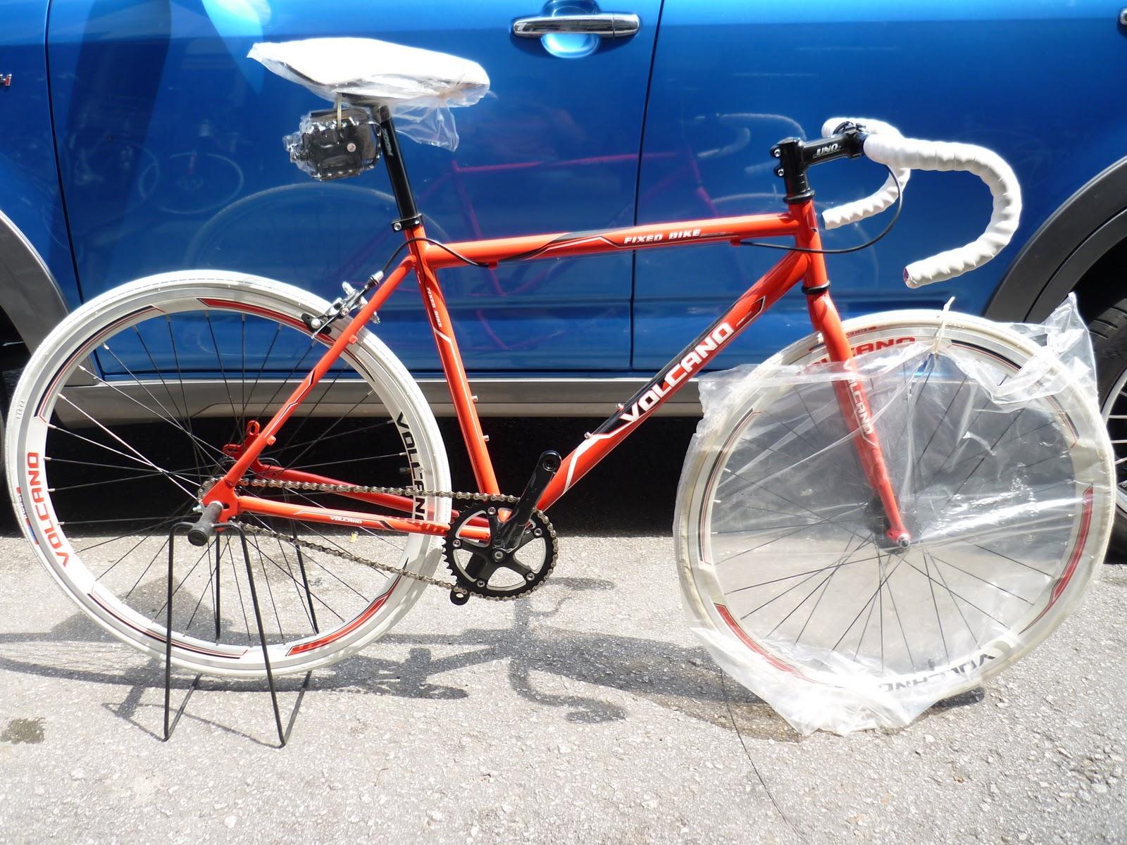Ytwocycle Trading Fixie Bike Volcano