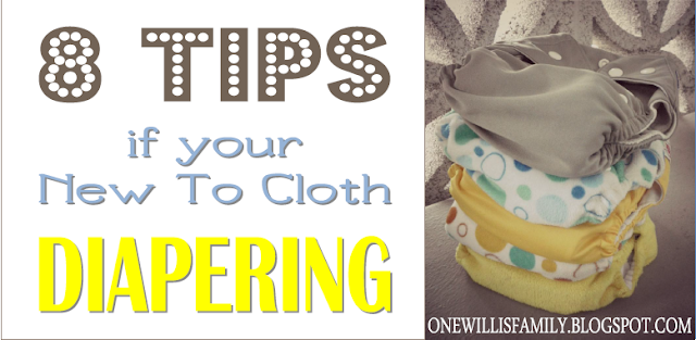 tips for new at cloth diapers