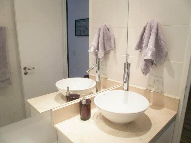 Segundo apartamento decorado pela leitora!  Comprando Meu Apê  Comprando Me -> Banheiro Decorado Social