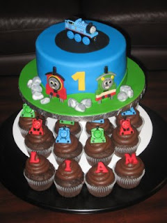 Boys 1st Birthday Cakes Image