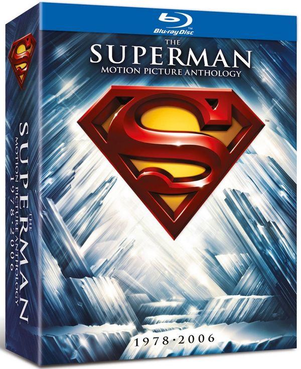 The Superman Motion Picture Anthology - Blu-Ray Supermanbd