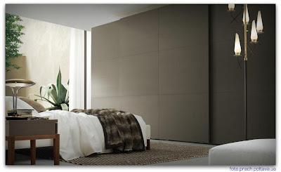Шкаф для спальни модели Breeze / MaxiBreeze от фабрики Jesse