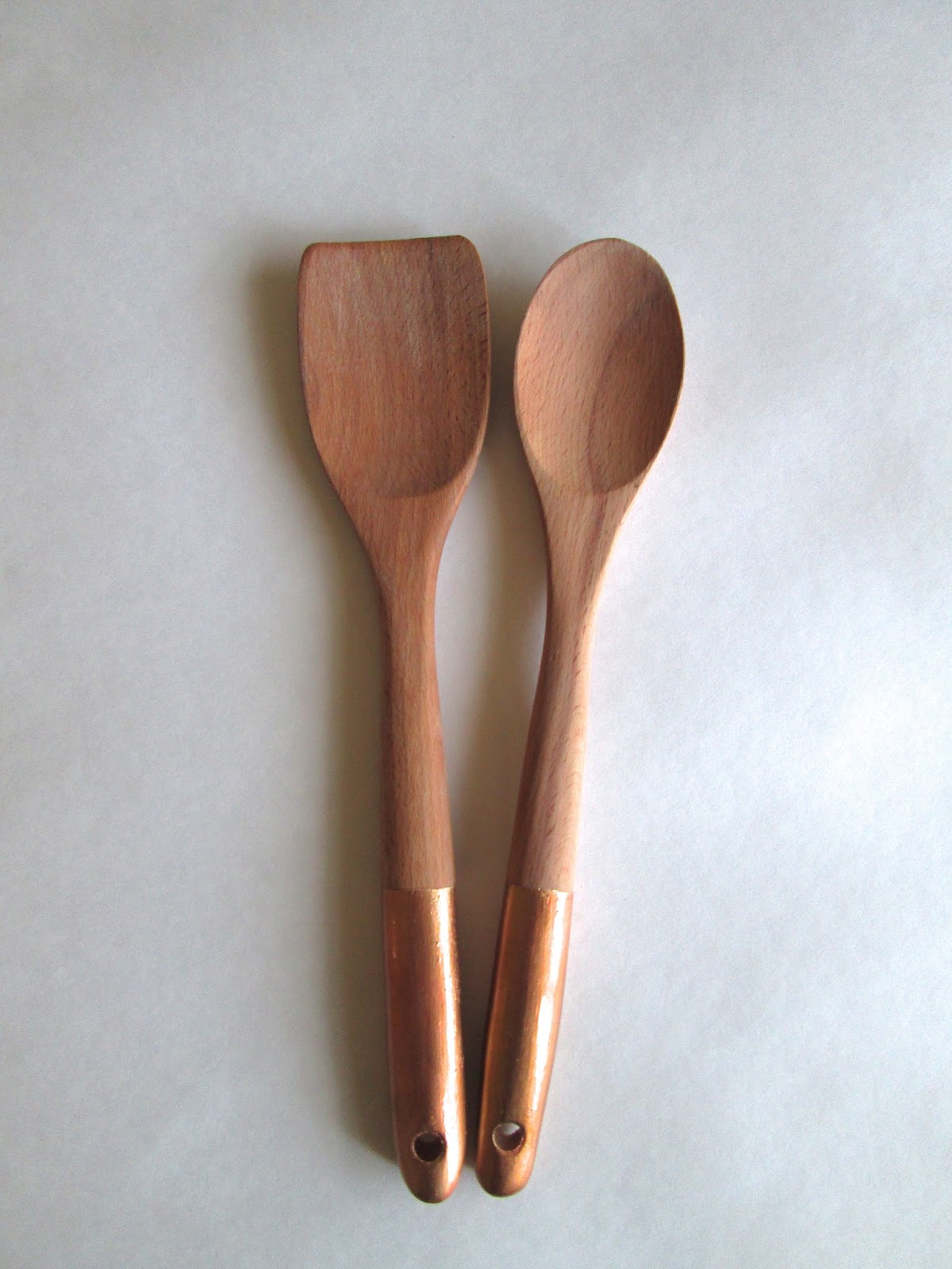 Anthropologie Copper Plated Serving Set Knock-off