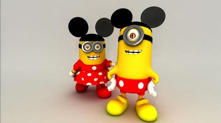 Minions Minie e Minions Mikei
