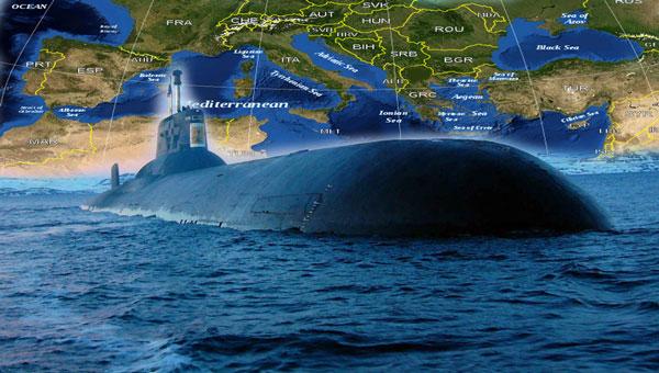 Μια τεράστια πυρηνική ναυτική δύναμη