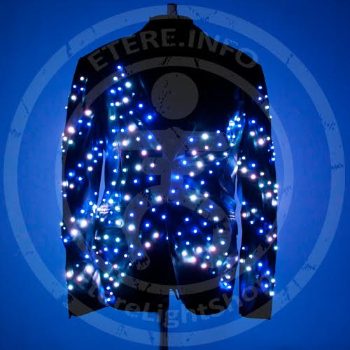 light solutions etere led light up video screen fashion disco jacket