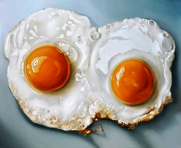Hyper realistic food painting by tjalf sparnaay art - Hyper cuisine ...
