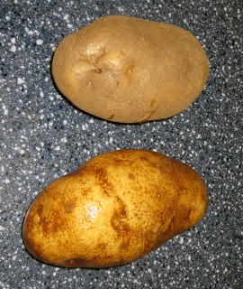 Scrubbing potatoes is SUCH a pain! BrownThumbMama.com