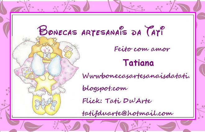 Bonecas Artesanais da Tati