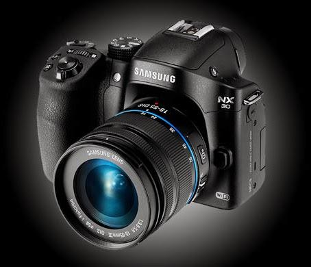 Review, Spesifikasi dan Harga Kamera Mirrorless Samsung NX-30