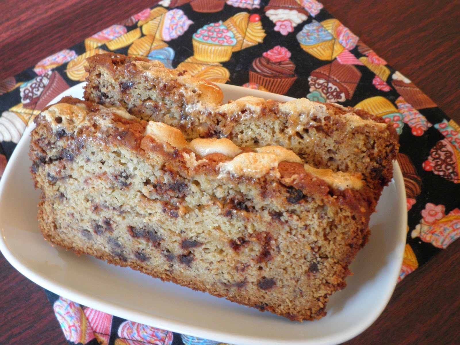 Secrets from the Cookie Princess: S'mores Banana Bread