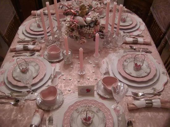 Bellissimo Valentine Table Setting Ideas