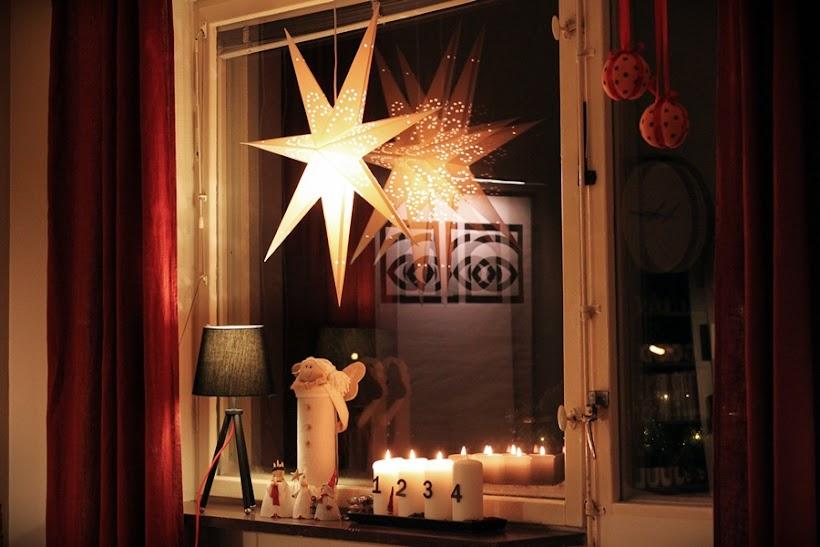 julstjärna, pappersstjärna