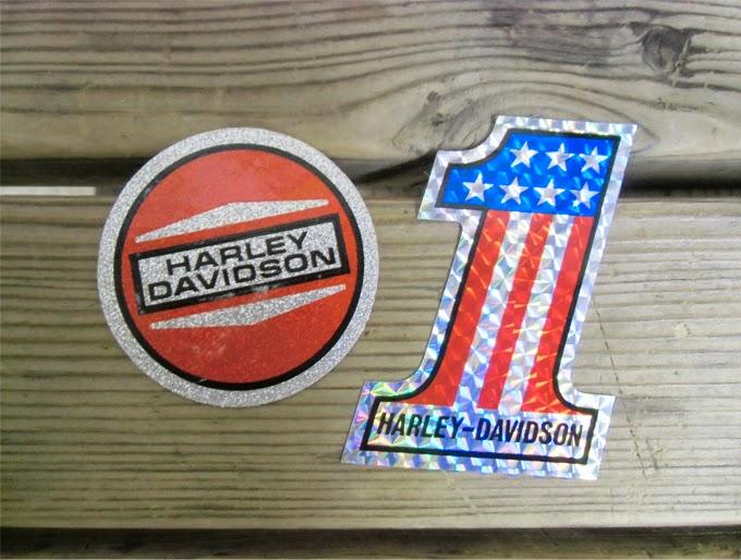 ハーレーダビッドソン 昔のステッカー 非売品
