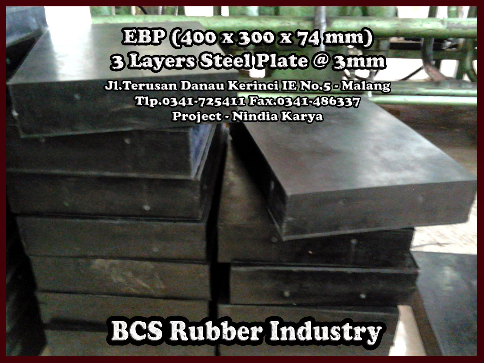 - Product Elastomer Bearing Pads - Steel Plate (Laminated)
