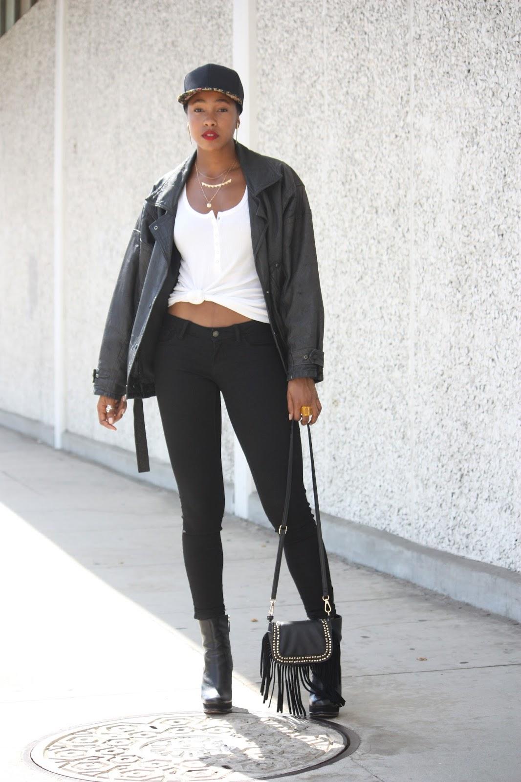 Fashion blogger spring ootd
