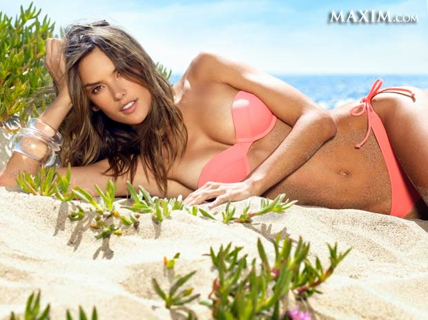 Yes, the Maxim 2014 Hot 100 of Sexiest Women & Hottest Celebrities are definitely right to showcasing the spontaneous work list to a public and put Alessandra Ambrosio on the list number.