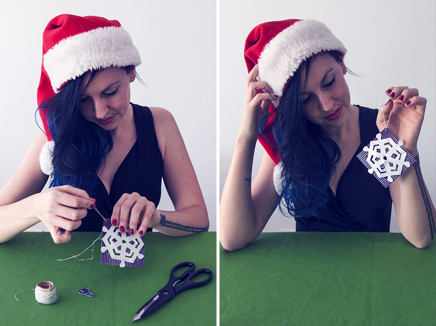 For Peet's Sake blog DIY Christmas tree ornaments